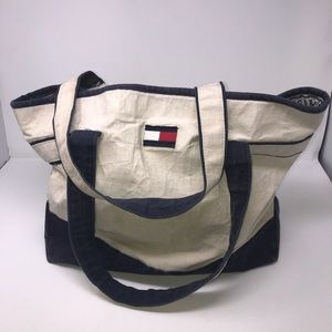 Tommy Hilfiger Beach bag, tote bag Blue Red White